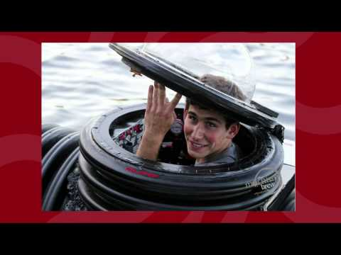 Teen builds a submarine