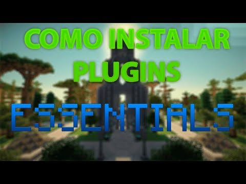 Como Instalar Plugins no seu Server de Minecraft // Essentials