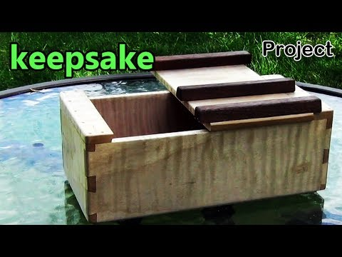 Project #5: Keepsake Box w/ a Lid Design Borrowed From a Japanese Traditional Woodworking ...