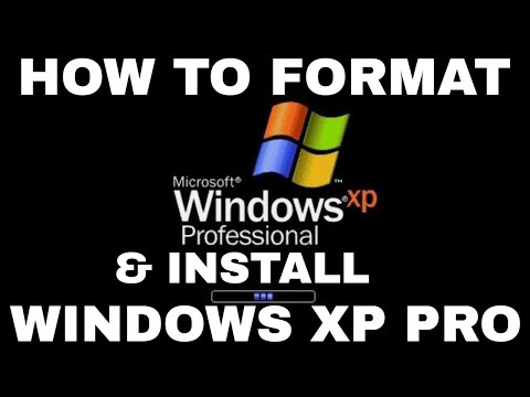 Windows XP Formatting and Clean Installation thumbnail