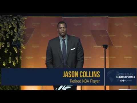 Jason Collins & Zeid Ra'ad Al Hussein: 2015 Global Leadership Awards Dinner