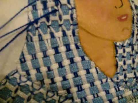 bordado fantasia marimur vestido virgen  vd  88z