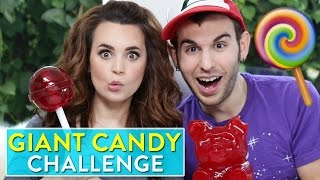 GIANT CANDY CHALLENGE!