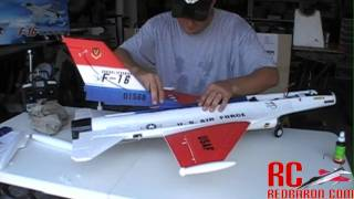 F-16 Falcon 70mm EDF Jet by NitroPlanes - Build Video