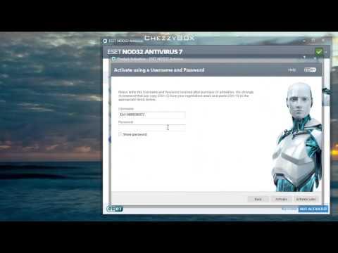 ► ESET NOD32 AntiVirus 2014 + Username & Password  For Free