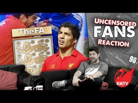 Luis Suarez Gets 10 Game Bite Ban (Uncensored Liverpool Fan Reactions)