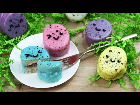 How to Make Easter Egg Petit Fours!