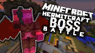 Minecraft: The Hermitcraft Boss Battle! (Only One Command)