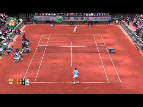 Roland Garros 2014 Sunday Highlights Djokovic Tsonga
