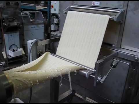 M quinas y plantas para la producci n de pasta tallarines pappardelle tagliolini youtube - Maquina para hacer macarrones ...