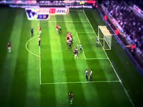 Arsenal Vs Newcastle 1-0 Highlights (19-5-2013)