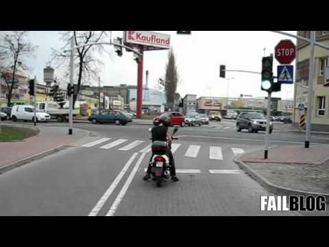 Не зли мотоциклиста :)