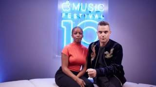 Robbie Williams   Beats 1 Interview   Apple Music Festival 2016