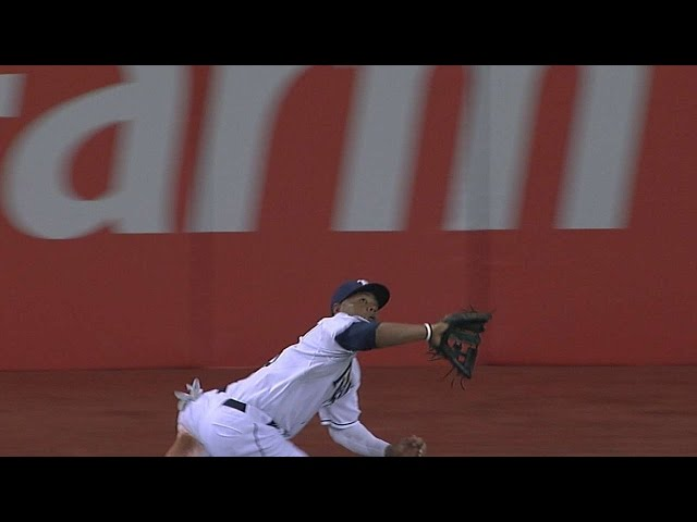 Crawford makes a great grab in the third