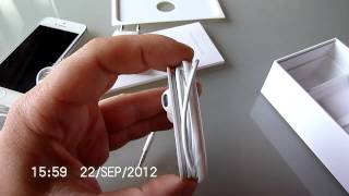 iphone5 unboxing