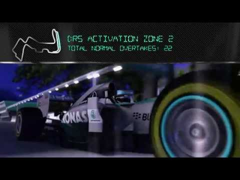 Singapore: On Board with Lewis Hamilton in the F1 Simulator!