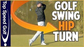 Hip Turn In The Golf Swing