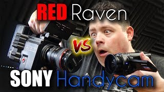 Should you buy expensive RED or cheap SONY handycam? Let's find out.