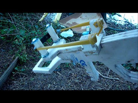 Making the Joerg Sprave Bullpup Slingshot Crossbow - part 3 (FINISHED)