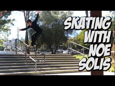 SKATING WITH NOE SOLIS & FRIENDS !!! - NKA VIDS