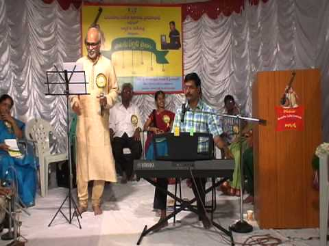 Yvr Sastry Program Of Ghantasala Songs video