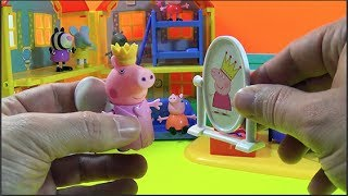 Unboxing Peppa Pig * Dress Up * Toy Collectable Figures
