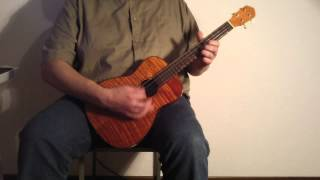 The Man Who Sold The World - Baritone Ukulele Cover