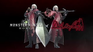 Monster Hunter: World - Devil May Cry Collaboration
