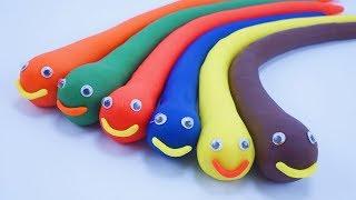 Nhạc Thiếu Nhi Vui Nhộn - Bài Hát Xúc Xẻ Xúc Xẻ - Học Màu Sắc Tiếng Anh Với Đồ Chơi PlayDoh