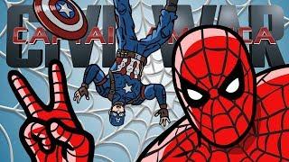 Captain America Civil War Trailer #2 Spoof - TOON SANDWICH