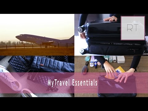♥ My Travel Essentials + What's In My Suitcase ♥
