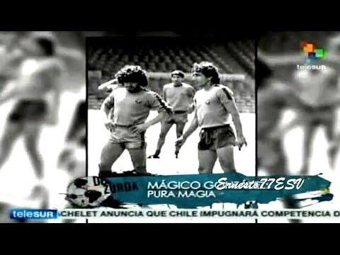 Maradona habla sobre el Mágico Pura Magia en el programa De Zurda