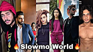 Tiktok 🔥Slowmo World🔥 New Trend Shuffle |Latest Going Viral Tiktok ft. Hardik, Madboi, awez, Aman|