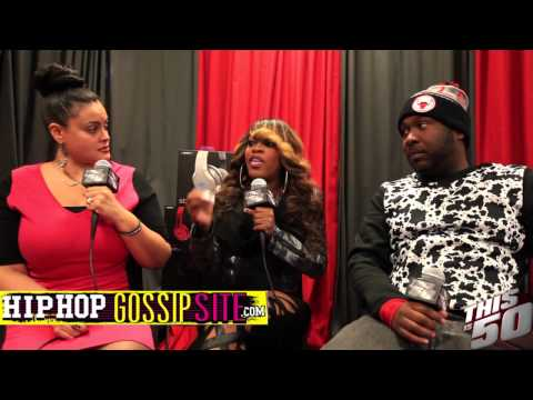 Lil' Mo Talks R&B Divas; Kelly Price; 50 Cent; Fabolous; Reality Shows; Her Kids - TI50