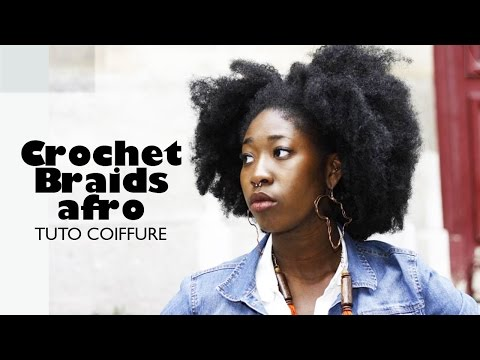Comment réaliser un afro avec Crochet Braids   Tuto coiffure