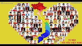 TỰ HÀO TÔI YÊU VIỆT NAM - Kỳ Phương - Bài hát về thể thao VN - Hơn 100 ca sỹ,vđv,ngôi sao