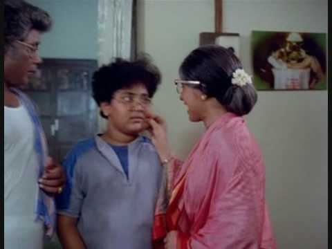 Tamil Comedy - Bhagyaraj meets his brother-in-law in Chinna Veedu
