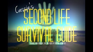 Second Life Survival Guide pt 5 More on Learning Your Inventory and people list