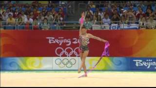 Simona Peycheva ribbon 2008 final olympic games Beijing