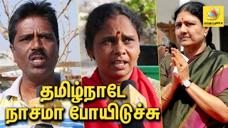 Public Opinion on Sasikala as Chief Minister