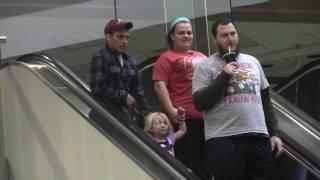 WET Farts on the Escalator! Flatulence Friday EP 13! No where to run! Fart Sounds,,fart prank