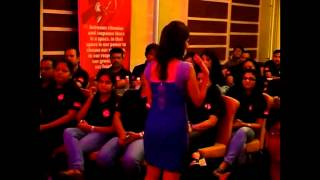 Emcee Shilpa Nainani - Audience Interaction