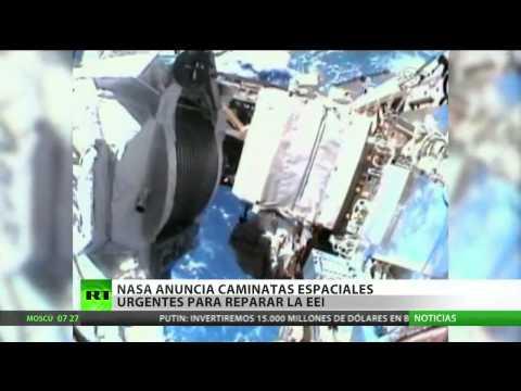 La Nasa anuncia caminatas espaciales urgentes para reparar la Estación Espacial Internacional