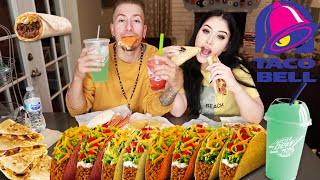 Taco Bell Mukbang ft. Bestfriend | Eating Show
