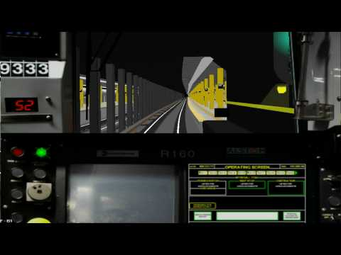 BVE 4 - New York - MTA - A train - R160 - 207th ST - 125th ST part 2/2