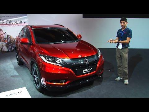 Honda HR V al salone di Parigi 2014
