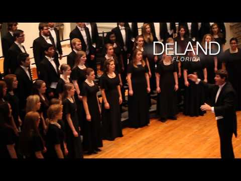 Stetson School of Music Concert Choir 2014