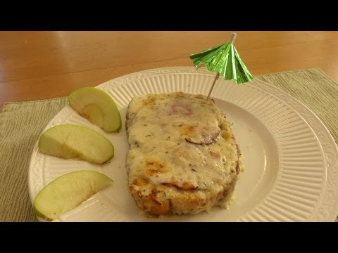 Quick Bake Ham & Cheese Sandwich  French Style  (Croque-Monsieur)