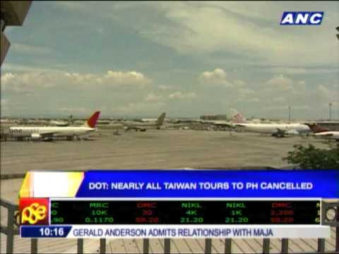 Taiwan agencies cancel nearly all tour packages to PH