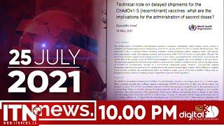 ITN News 2021-07-25 | 10.00 PM